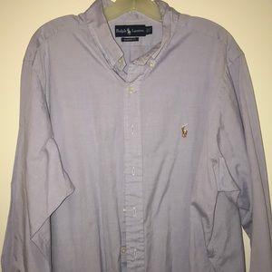 Ralph Lauren Long sleeve button shirt size 17 1/2